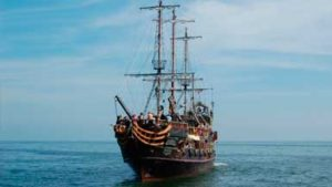 Аквапарк Cопота и Экскурсионный Корабль Пират
